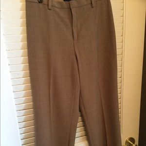 Size 4A  Light brown classic fit trousers from GAP